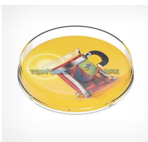 Монетница пластиковая круглая